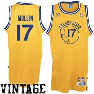 Golden State Warriors Chris Mullin Gold Soul Adidas Swingman Jersey ... 6ca66b074