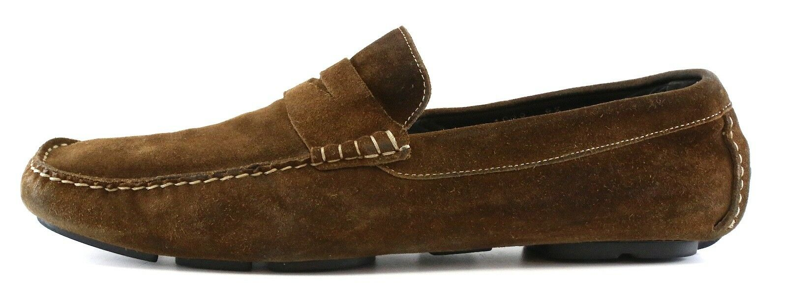 To Boot New York Slip On Suede Penny Loafers Brown Men Sz 8.5 1056