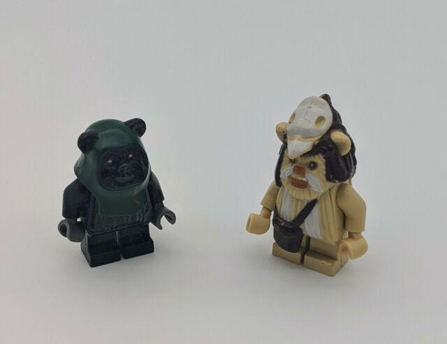 Star Wars lego mini figure BLACK EWOK TOKKAT 7956