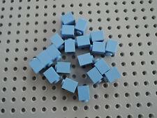 Lego 20 x Stein Baustein Basic 3005 1x1 mittelblau medium blau blue