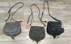 Image Is Loading 1 Franco Sarto Crossbody Bag Saddle Tinsel Fringe