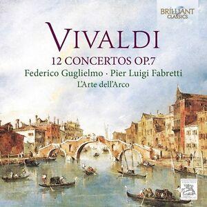 Guglielmo-Fabretti-L-039-ARTE-DELL-039-arco-12-Concertos-op-7-2-CD-NUOVO-Vivaldi
