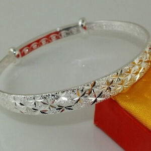 Women-Spark-Pattern-Bracelet-Bangle-Bracelet-Jewelry-Birthday-Christmas-Gift-J