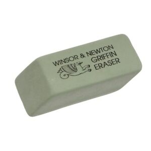 Winsor & Newton Griffin High Quality Art Eraser for Pencil, Graphite & Charcoal