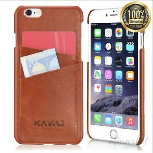 new arrivals 5743b 646ee Details about Leather case back cover for KAVAJ iPhone 6 (4.7 inch)