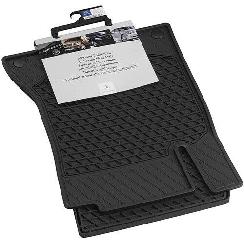 ORIGINALE Mercedes allwettermatten tappetini in gomma Set Anteriore CLA 117 a17668050019g33