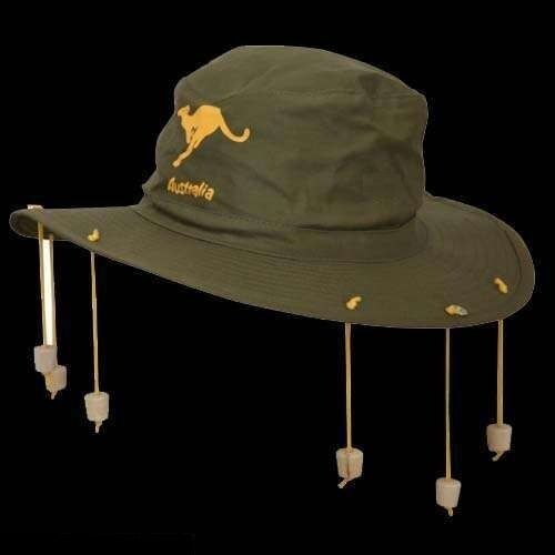 CROCODILE DUNDEE AUSTRALIAN THEME FANCY DRESS PARTY AUSSIE CORK CRICKET HAT NEW