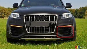 NEW GENUINE AUDI Q V NS LEFT FRONT BUMPER LOWER GRILL - Audi q7 v12