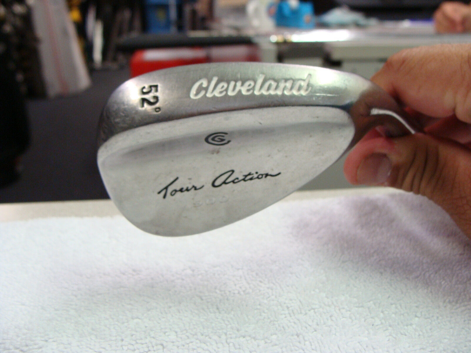 Cleveland Tour Action 900 Gun Metal 54° Wedge Original Steel Wedge Flex