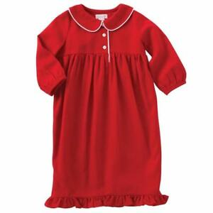 image is loading mud pie girls baby red christmas nightgown pajamas