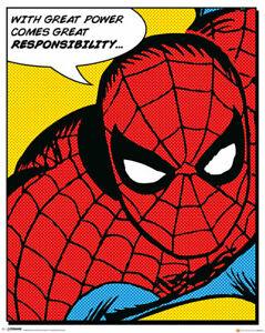 Mini Poster Spiderman