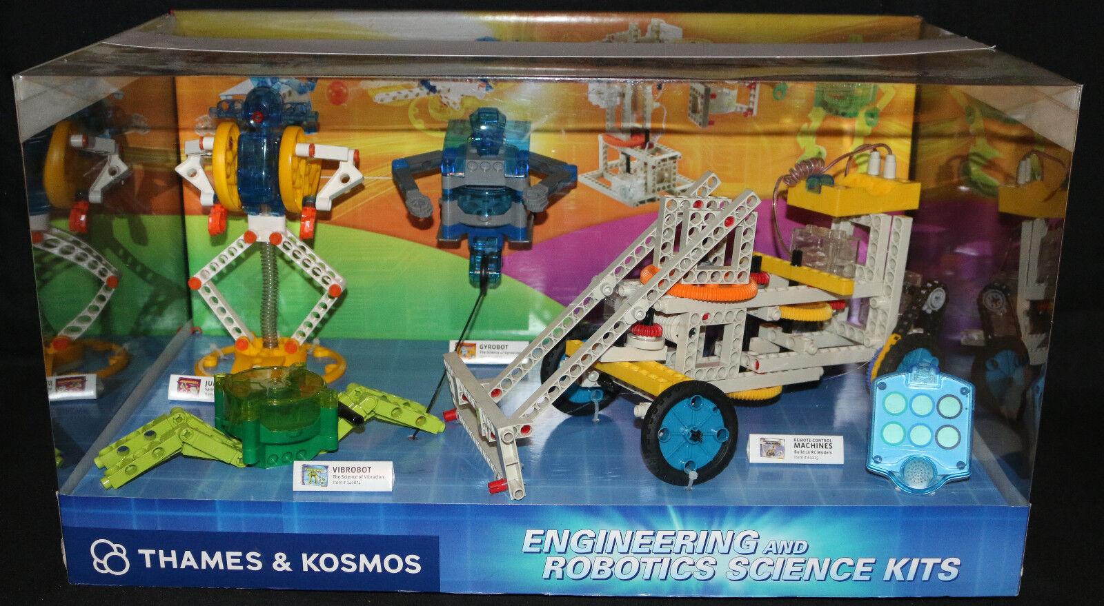 Engineering and Robotics Science Kits by Thames & Kosmos Display Box