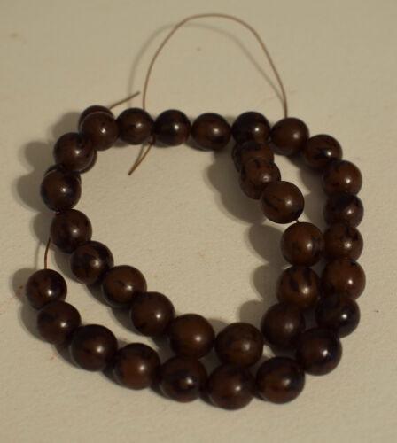 Beads Buri Nut Round Philippines Beads
