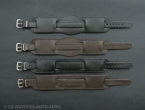New-Leather-WW1-Military-Trench-Watch-Strap-Band-Black-Brown-10mm-12mm-14mm