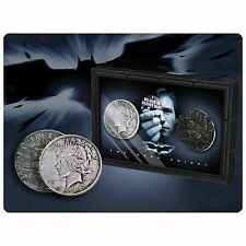 Batman The Dark Knight Rises Harvey Dent and Two-Face Coins NN4538 Noble