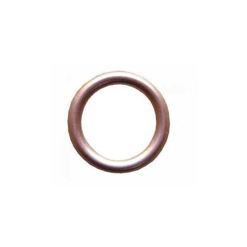 10 x 8MM COPPER CRUSH SUMP PLUG GASKET SEALING OD 12MM WASHERS KW221