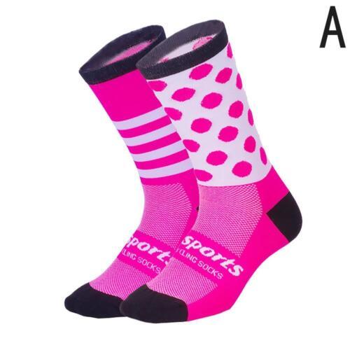 Hot Men Women Bicycle Cycling Riding Socks Running sports Breathable Socks 2019