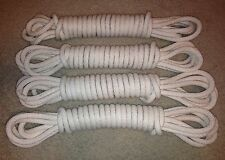 """WWII US ARMY AIRBORNE PARATROOPER """"LET DOWN"""" ROPE - COTTON DROP ROPE"""
