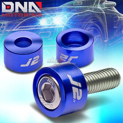 J2 FOR D15 D16 EG EK GUN METAL ALUMINUM ENGINE//MOTOR VALVE COVER WASHER+BOLT