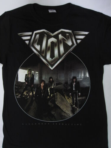 Lion S-XXXL Dangerous Attraction Tour /'87-/'88 T-shirt