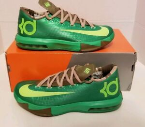 f0f1d3528a16 NIKE KD VI (6) BAMBOO EDITION MEN S SZ 7 NEW 599424-301 BASKETBALL ...