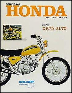image is loading honda-xr75-shop-manual-1973-1974-1975-1976-