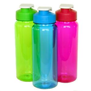 Bulk Flip Top Plastic Water Bottle 21