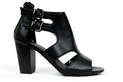 Damen Sandale Sandalette Sommerschuhe schwarz Größe 37  schwarz  003