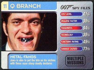 Remote Control Phone #26 Q Branch 007 Spy Files 2002 James Bond Trade Card C1857