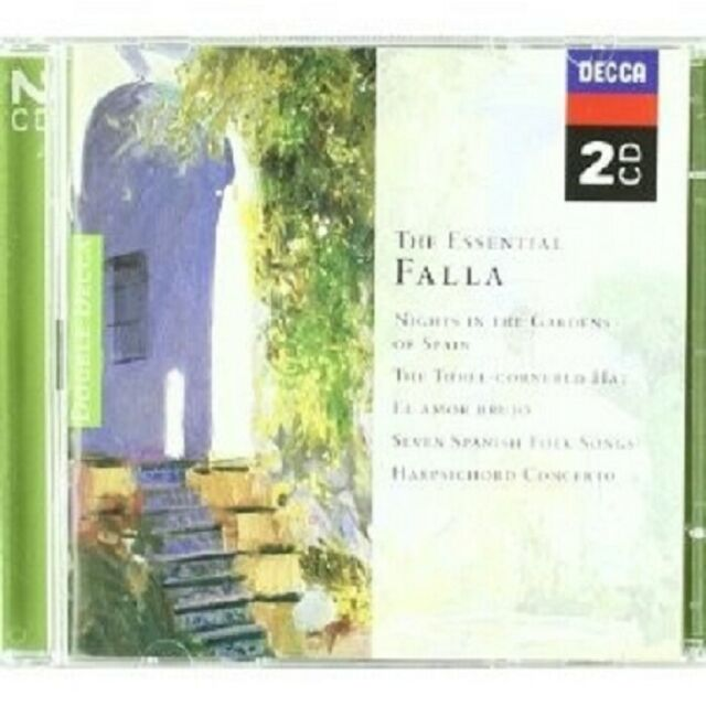 LARROCHE/DE BURGOS/RATTLE - ESSENTIAL DE FALLA 2 CD NEU