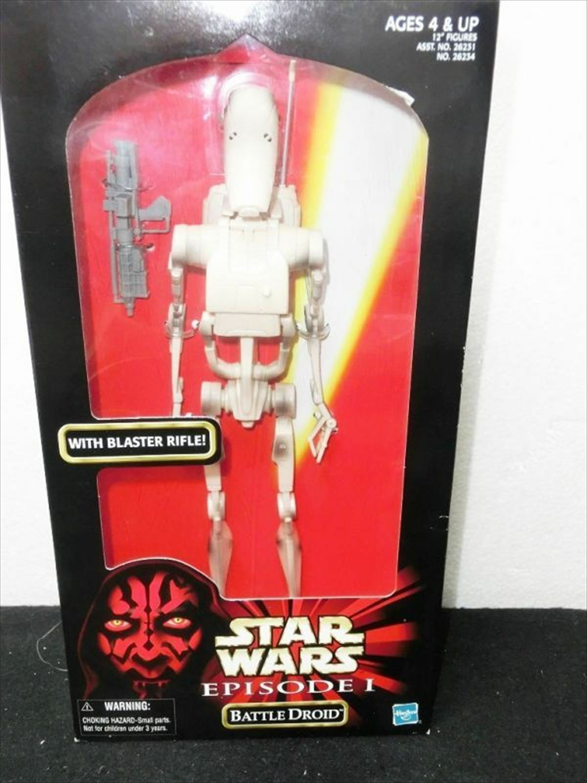 TOMY Star Wars Episode 1 Battle Droid 12 inches figure from JAPAN F/S
