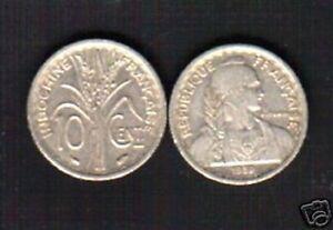 FRENCH INDO CHINA 10 CENTS KM21 1939 LIBERTY COIN LOT X 100 PCS VIETNAM MONEY