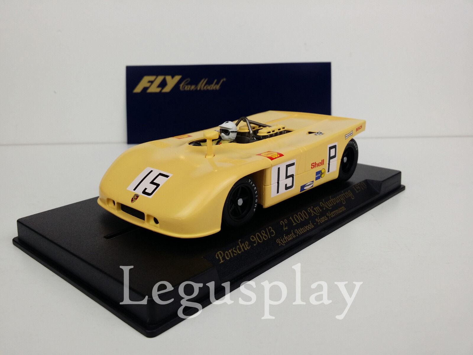 Slot car SCX Scalextric Fly 88023 C69 Porsche 908 3 2º 1000Km Nurburgring 1970