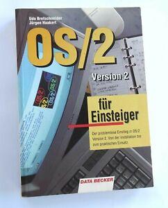 DATA BECKER  OS/2  VERSION 2 FÜR EINSTEIGER 1992