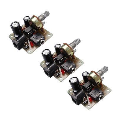 Amplifier Board ICSK025A Power Electronic Suit DIY Kit DC 5V-12V LM386 Kit