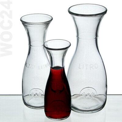 0.75 L Weinkaraffe Glas Peugeot Vendange Karaffe für reife Rotweine H 30 cm