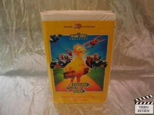 Sesame Street Follow That Bird Vhs 1996 Clam Shell Ebay