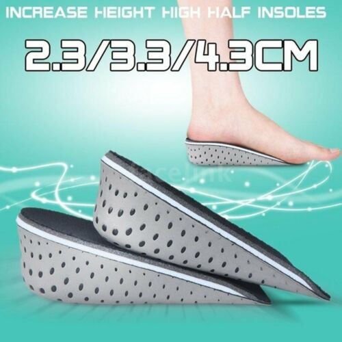 1 Pair Insole Heel Lift Insert Shoe Pad Cushion Elevator Taller Height Increase