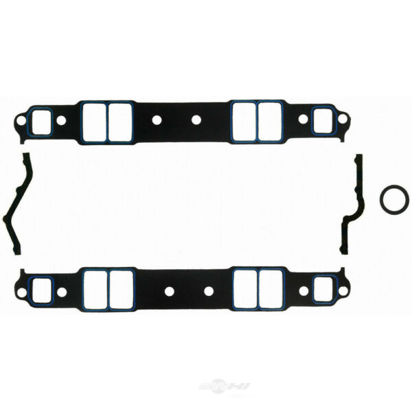 "Fel-Pro 1206 Small Block Chevy 1.31/"" x 2.21/"" Port Intake Manifold Gasket Pair"