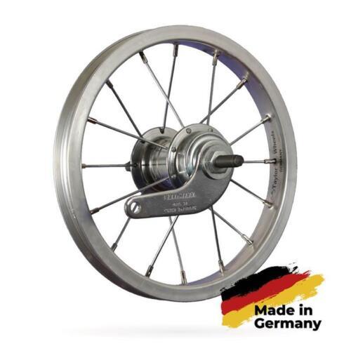 Taylor-Wheels fietswiel 12 inch achterwiel terugtrap roestvrij staal 203-19 zilv