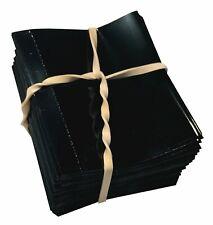 Black 55x60 Heat Shrink Neck Wrap Band Liquor Beverage Bottle Shrink 200 Pack