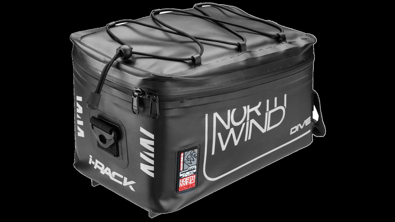 Northwind IRack Bisaccia Borsa Bicicletta Smartborsa Dive 7L IMPERMEABILE