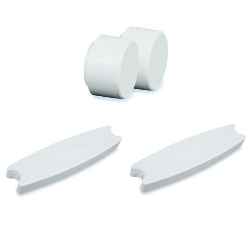 Swimline Pool Ladder Replacement Rubber Bumper Pair Pool Ladder Step 3 Pack