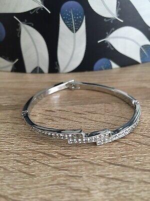 Swarovski Elements Triple Crystal Row Bracelet   eBay