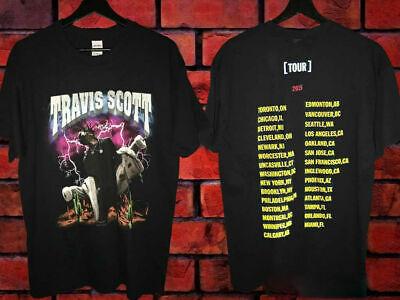 Travis Scott Rodeo Pen /& Pixel T-Shirt Fall Madness Tour Shirt RARE Merch S-XXL