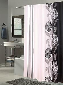 Carnation Home Fashions Extra Long Chelsea Fabric Shower