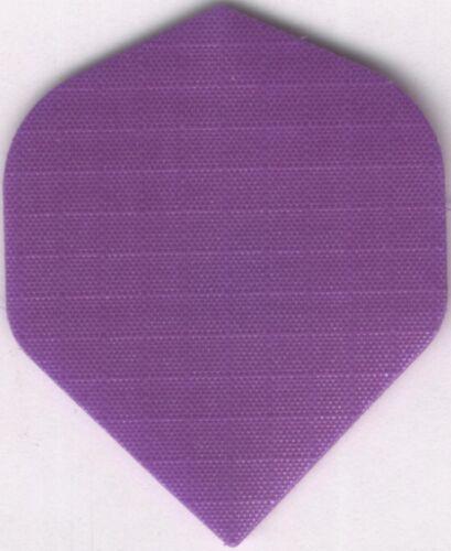 3 per set Purple Nylon Dart Flights
