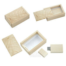 Fancy Best Gift Wooden Box Pen drive 8GB USB 2.0 Memory Stick Flash Drive Disk