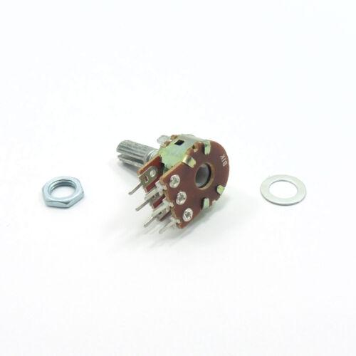Mezclador estéreo Ohm Lineal B Potenciómetro Volumen Tono Lin