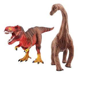 Deao dinosaur figures with realistic design set of 2 - Dinosaure diplodocus ...